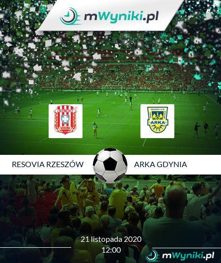 Resovia Rzeszów - Arka Gdynia