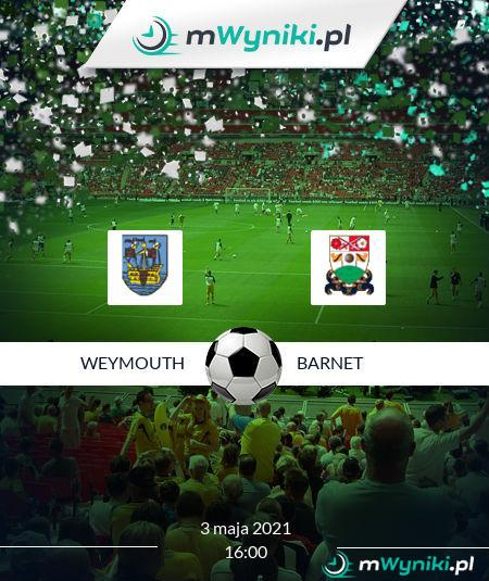 Weymouth - Barnet