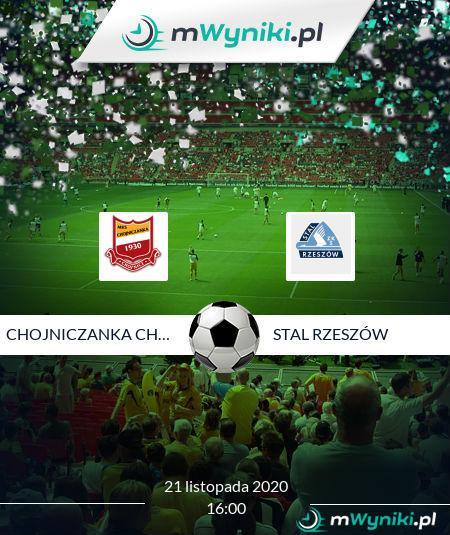 Chojniczanka Chojnice - Stal Rzeszów