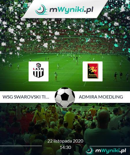 WSG Swarovski Tirol - Admira Moedling