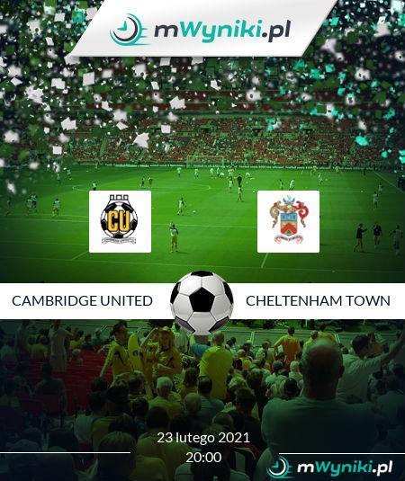 Cambridge United - Cheltenham Town
