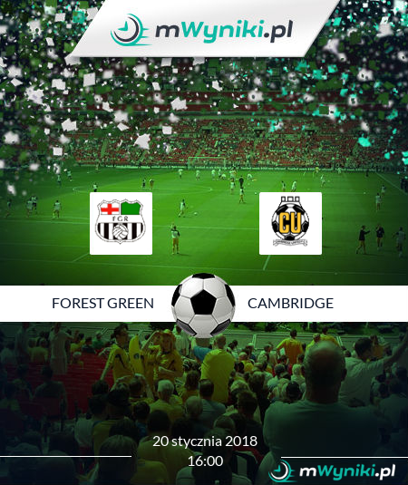Forest Green - Cambridge