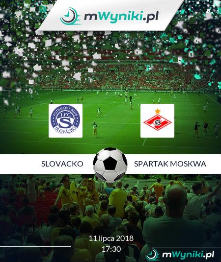 Slovacko - Spartak Moskwa