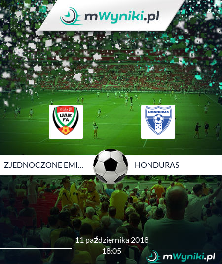 Zjednoczone Emiraty Arabskie - Honduras