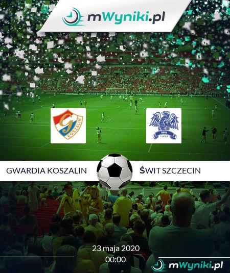 Gwardia Koszalin - Świt Szczecin