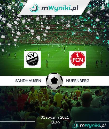 Sandhausen Nurnberg