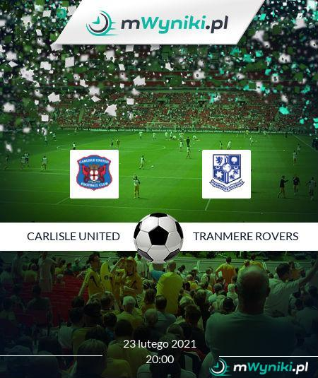Carlisle United - Tranmere Rovers
