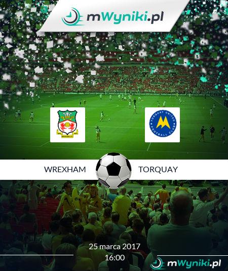 Wrexham - Torquay United