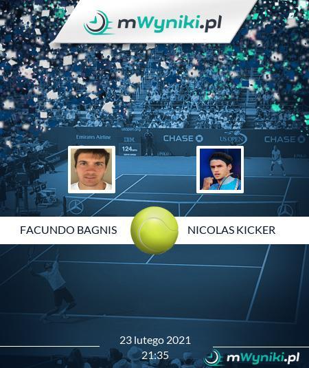 Facundo Bagnis - Nicolas Kicker