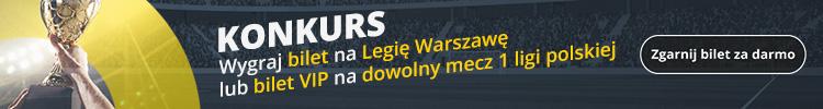 Odbierz darmowy bilet na mecz Legia Warszawa