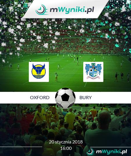 Oxford - Bury