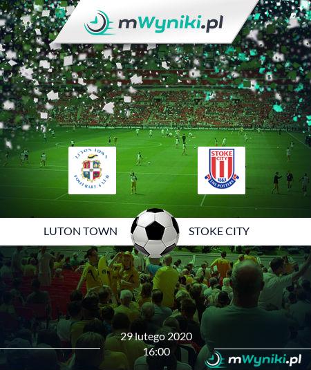 Luton Town - Stoke City