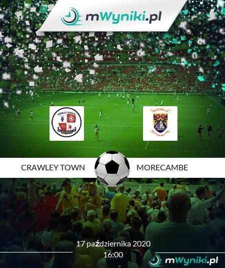 Crawley Town - Morecambe