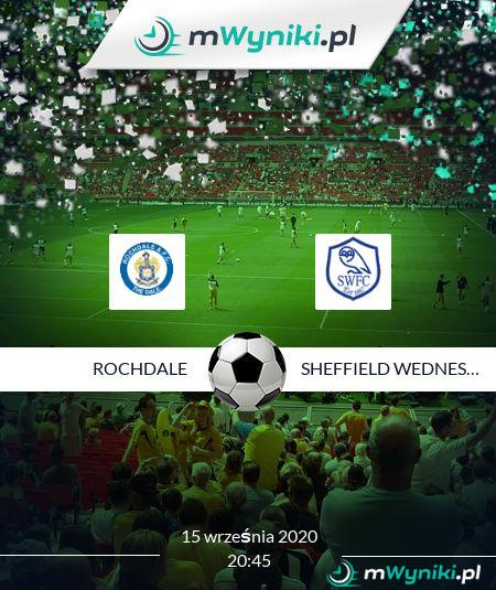 Rochdale - Sheffield Wednesday
