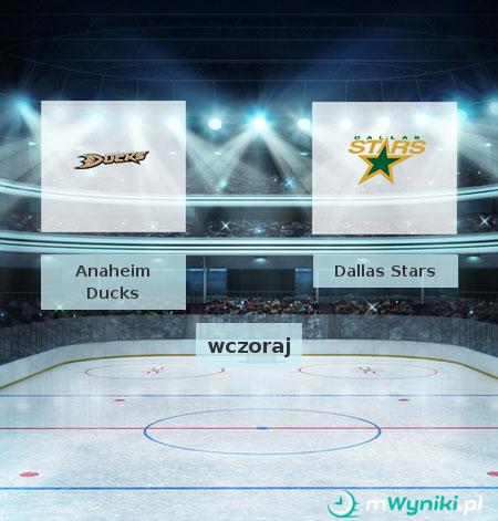 Anaheim Ducks - Dallas Stars