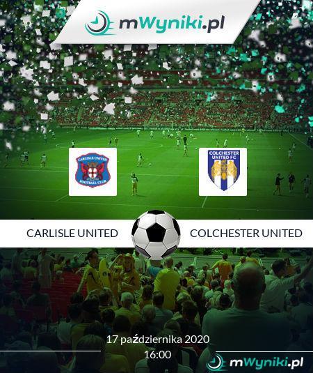 Carlisle United - Colchester United