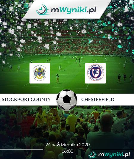 Stockport County - Chesterfield