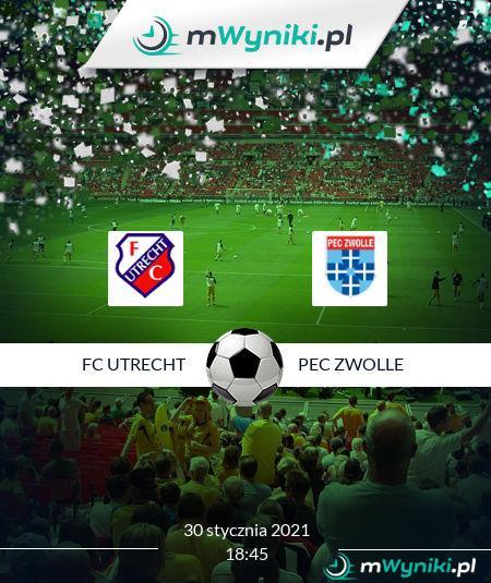 FC Utrecht - PEC Zwolle