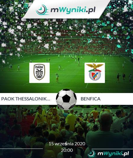 PAOK Thessaloniki FC - Benfica