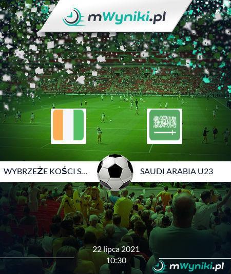 Wybrzeże Kości Słoniowej U23 - Saudi Arabia U23