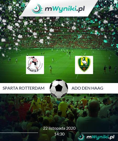 Sparta Rotterdam - ADO Den Haag