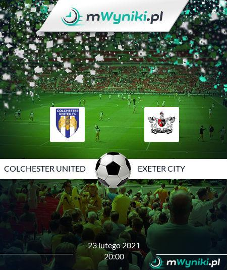 Colchester United - Exeter City