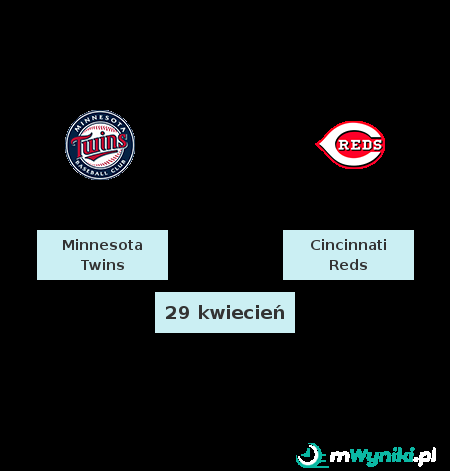 Minnesota Twins - Cincinnati Reds