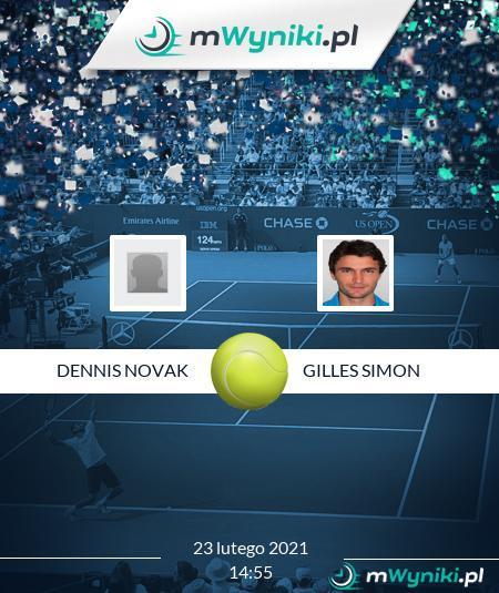 Dennis Novak - Gilles Simon