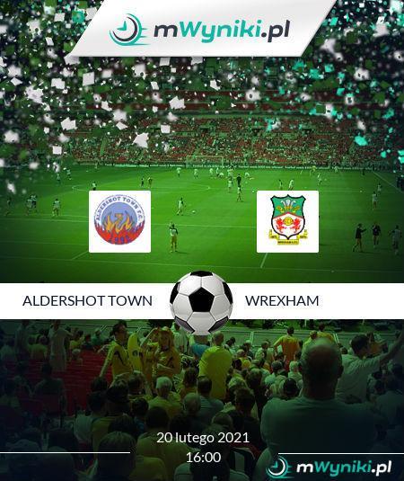 Aldershot Town - Wrexham