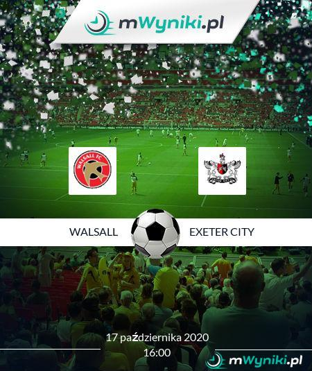 Walsall - Exeter City