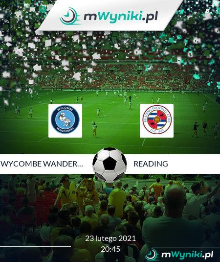 Wycombe Wanderers - Reading