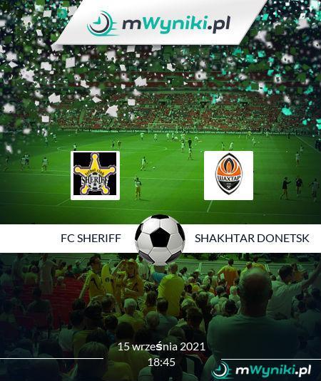 FC Sheriff - Shakhtar Donetsk