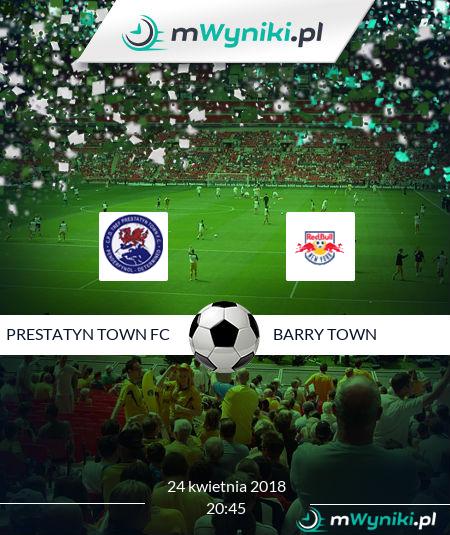 Prestatyn Town FC - Barry Town