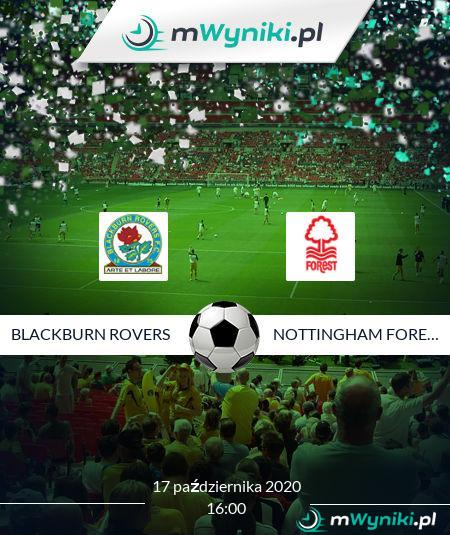 Blackburn Rovers - Nottingham Forest
