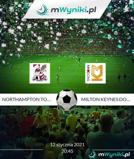 Northampton Town - Milton Keynes Dons