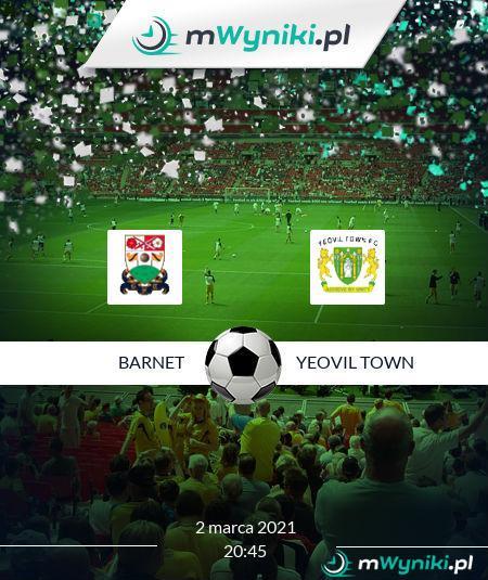 Barnet - Yeovil Town