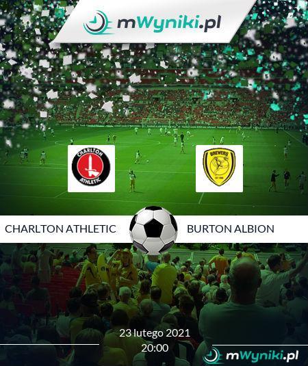 Charlton Athletic - Burton Albion