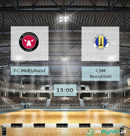 FC Midtjylland - CSM Bucuresti