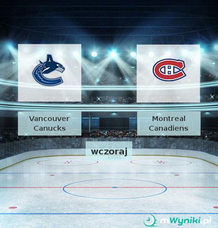 Vancouver Canucks - Montreal Canadiens