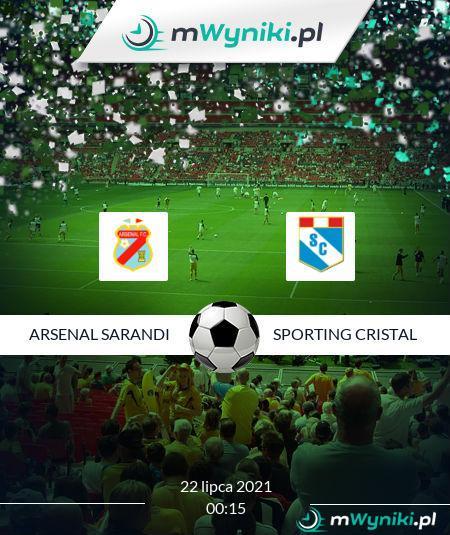 Arsenal Sarandi - Sporting Cristal