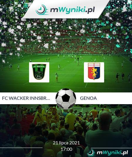 FC Wacker Innsbruck II - Genoa