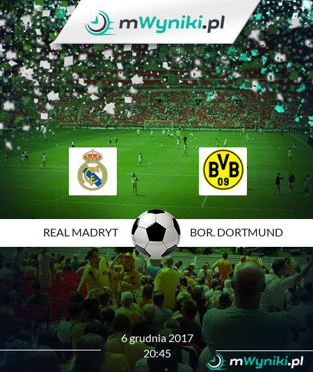 Real Madryt - Bor. Dortmund