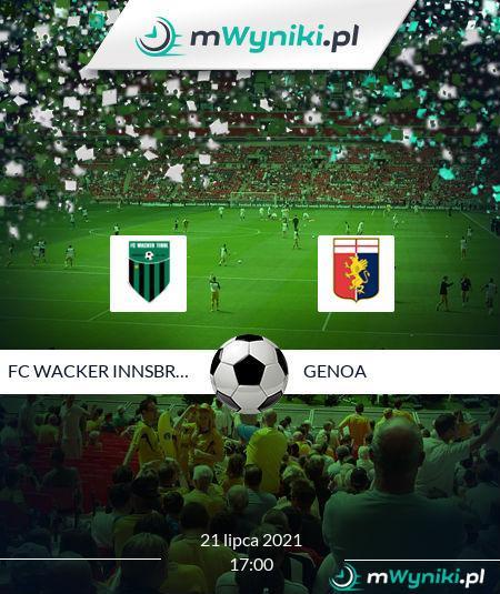 FC Wacker Innsbruck - Genoa