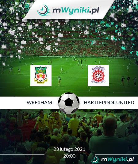 Wrexham - Hartlepool United