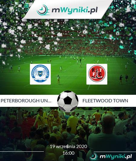 Peterborough United - Fleetwood Town