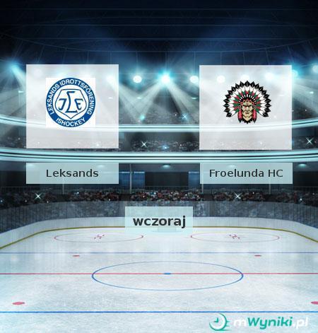 Leksands - Froelunda HC
