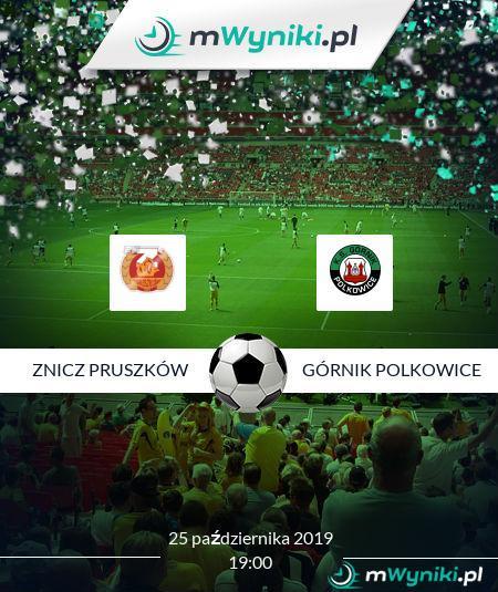 Znicz Pruszków - Górnik Polkowice
