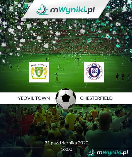 Yeovil Town - Chesterfield