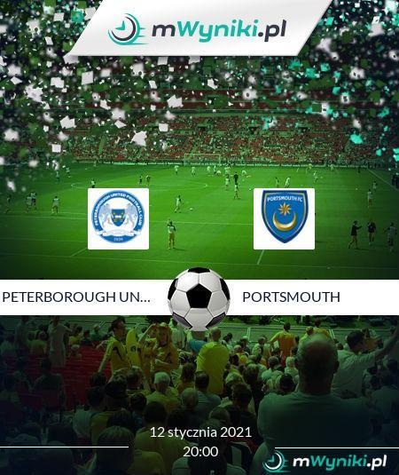 Peterborough United - Portsmouth