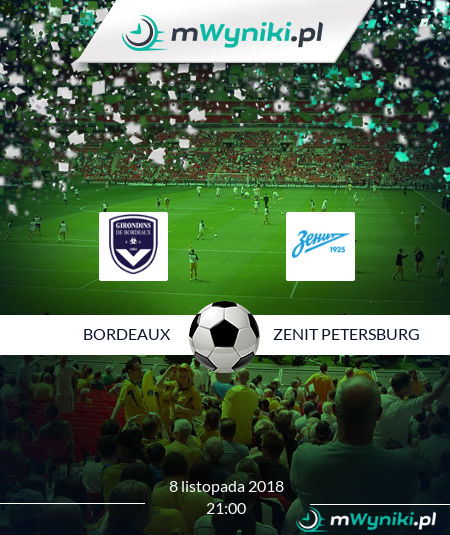 Bordeaux - Zenit Petersburg